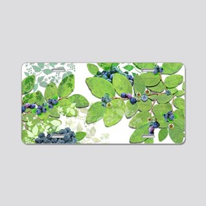 Blueberries from Nova Scoti Aluminum License Plate