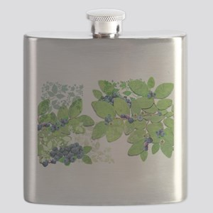 Blueberries from Nova Scotia Flask