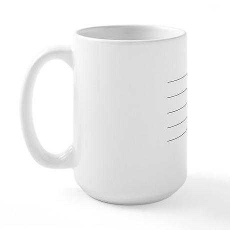 DON'T EVEN TALK TO ME UNTIL I FINISH MY Large Mug