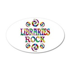Libraries Rock Wall Decal