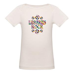 1bd82ea50a8 Libraries Organic Baby T-Shirts - CafePress
