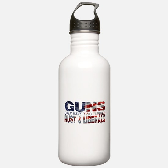 GUNS Water Bottle