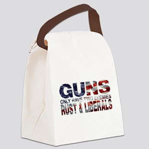 GUNS Canvas Lunch Bag