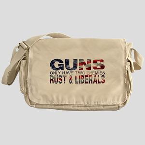GUNS Messenger Bag