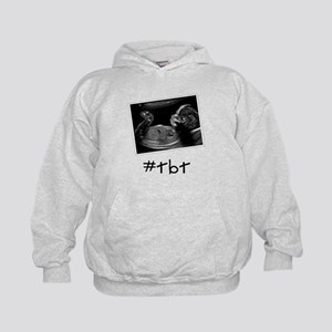 Baby Throw Back Thursday Kids Hoodie