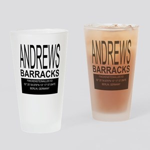 Andrews Barracks Drinking Glass
