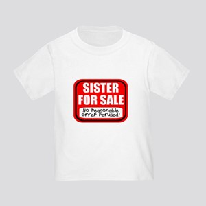 Sister Brother For Sale Toddler T-Shirt