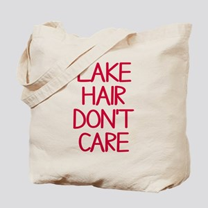 Ocean Lake Coast Boat Hair Don't Care Tote Bag
