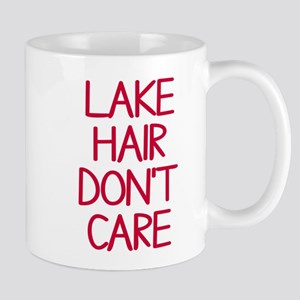 Ocean Lake Coast Boat Hair Don't Care Mug