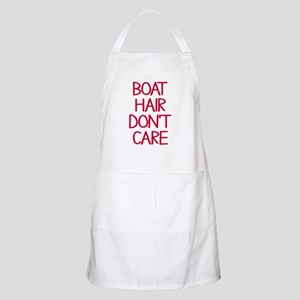 Ocean Lake Coast Boat Hair Don't Care Apron