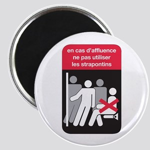 Don't Use Folding Chair, subway Paris (FR) Magnet