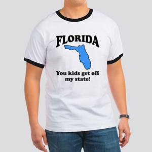 Florida Get off my state Ringer T
