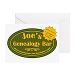 Joes Genealogy Bar Birthday Card