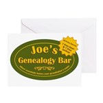 Joes Genealogy Bar Birthday Card
