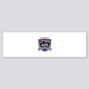 420 Layover Solutions Bumper Sticker