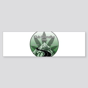 Club CannaBus Tours Logo Bumper Sticker