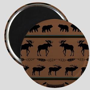 Deep Tan Cabin Blanket Magnet