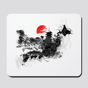 Abstract Kyoto Mousepad