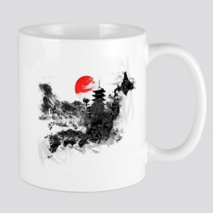 Abstract Kyoto Mug