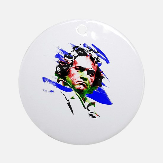 Beethoven Round Ornament