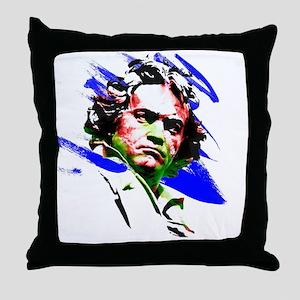 Beethoven Throw Pillow