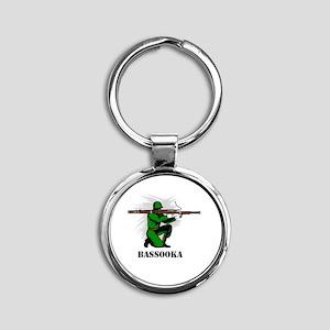 Bassooka Round Keychain