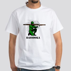 Bassooka White T-Shirt