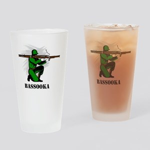 Bassooka Drinking Glass