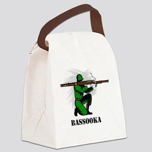 Bassooka Canvas Lunch Bag