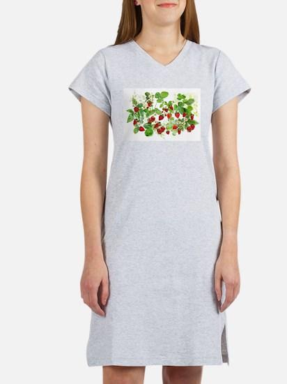 Ripe Strawberries from Provence Women's Nightshirt