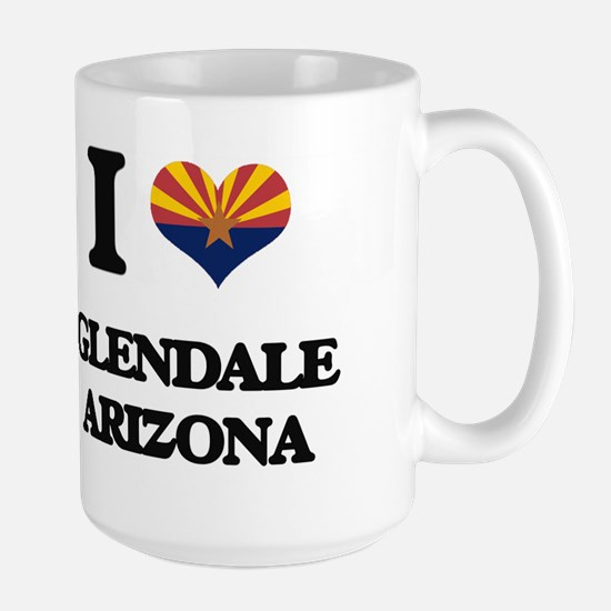 I love Glendale Arizona Mugs