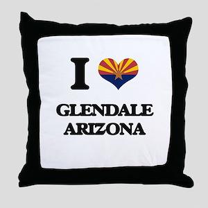 I love Glendale Arizona Throw Pillow