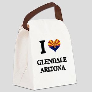 I love Glendale Arizona Canvas Lunch Bag