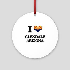 I love Glendale Arizona Ornament (Round)