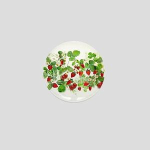 Ripe Strawberries from Provence Mini Button