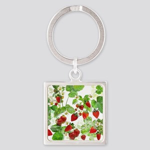Ripe Strawberries from Provence Keychains
