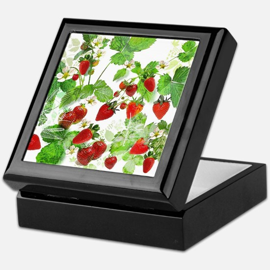 Ripe Strawberries from Provence Keepsake Box