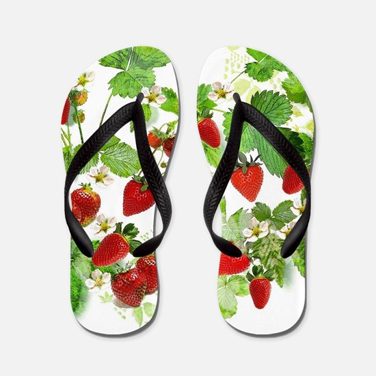 Ripe Strawberries from Provence Flip Flops