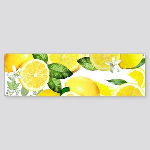 Acid Lemon from Calabria Bumper Sticker