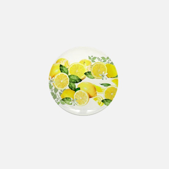 Acid Lemon from Calabria Mini Button