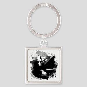 Glenn Gould Square Keychain