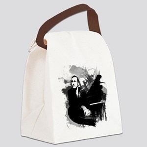 Glenn Gould Canvas Lunch Bag