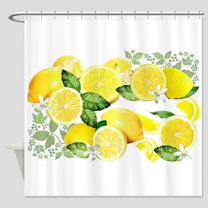 Acid Lemon From Calabria Shower Curtain