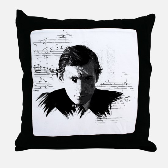 Glenn Gould Throw Pillow