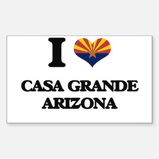 I love Casa Grande Arizona Decal