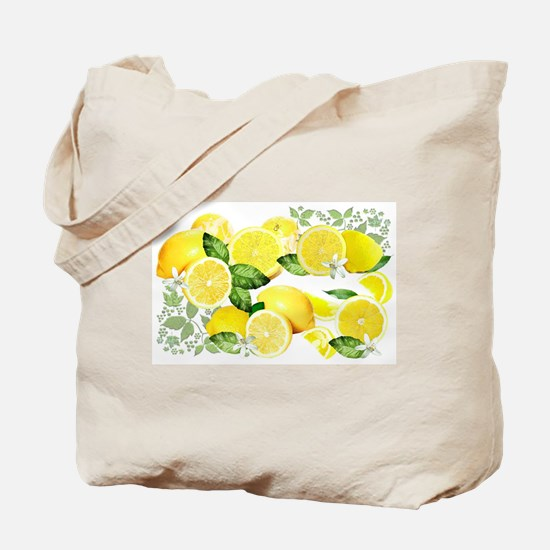 Acid Lemon from Calabria Tote Bag