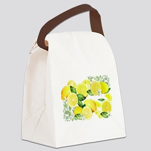 Acid Lemon from Calabria Canvas Lunch Bag