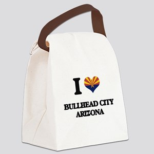 I love Bullhead City Arizona Canvas Lunch Bag