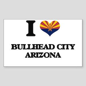 I love Bullhead City Arizona Sticker
