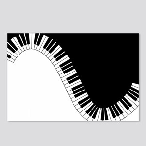 Piano Keyboard Postcards (Package of 8)